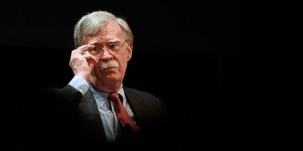 DURHAM, NC - FEBRUARY 17: Former National Security Advisor John Bolton discusses the