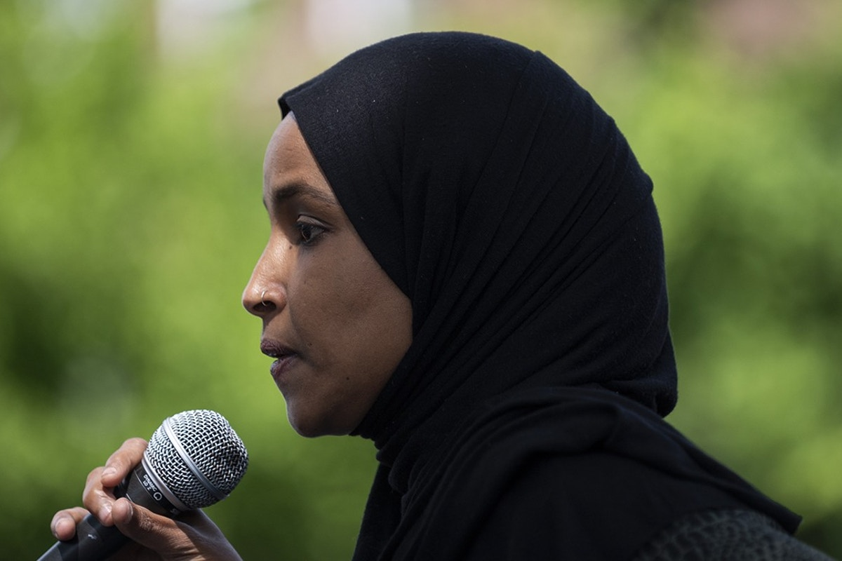Ilhan Omar's Primary Opponent Hit Black Lives Matter in 2015Ilhan Omar Primary