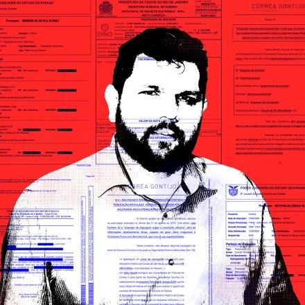 Empresas dizem que Oswaldo Eustáquio mentiu em matérias para favorecer concorrente. Mulher dele, assessora da ministra Damares Alves, pagou a divulgação de grupo beneficiado pelos ataques.