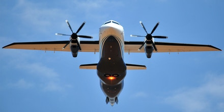 A Dornier Do-328 performs a fly-by as part of the 27th Special Operations Wing Capabilities Exercise on June 4, 2011, at Melrose Air Force Range, N.M.