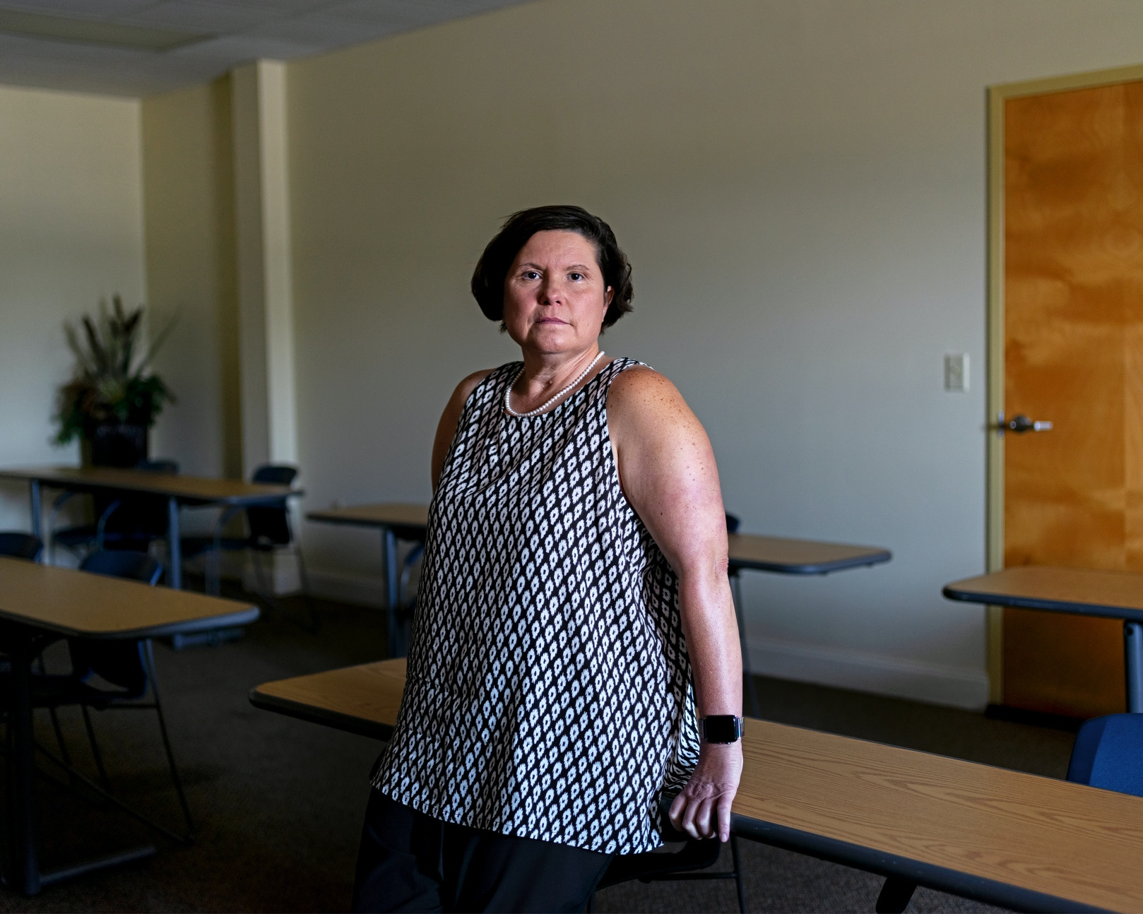 DECATUR, AL - August 19, 2020: Councilwoman Paige Bibbee at her office downtown. CREDIT: Johnathon Kelso for The Intercept.