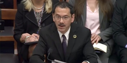 Anthony Schinella, the National Intelligence Officer for Military Issues, testifying at a House Armed Services Committee meeting, June 21, 2018.