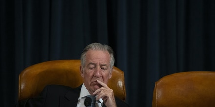 WASHINGTON, DC - MARCH 03: House Ways and Means Committee Chairman Rep. Richard Neal (D-MA) reacts before U.S. Treasury Secretary Steven Mnuchin testifies in front of the committee on the FY2021 budget at the U.S. Capitol on March 3, 2020 in Washington, DC. (Photo by Mark Makela/Getty Images)
