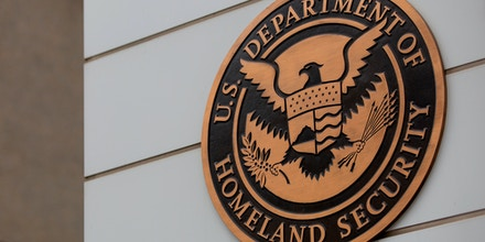 The US Department of Homeland Security building building is seen in Washington, DC, on July 22, 2019.