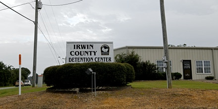 Irwin County Detention Center in Ocilla, Ga. on Sept. 24, 2020.