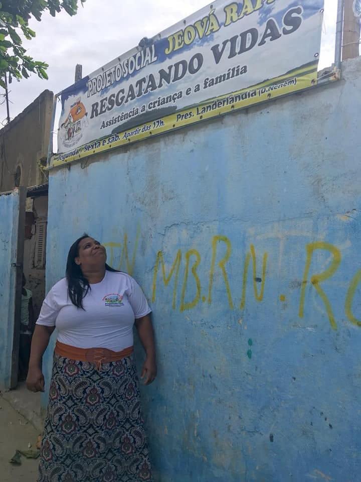 Antes da doença, Irmã Neném presidia uma ONG de amparo a crianças e adolescentes.