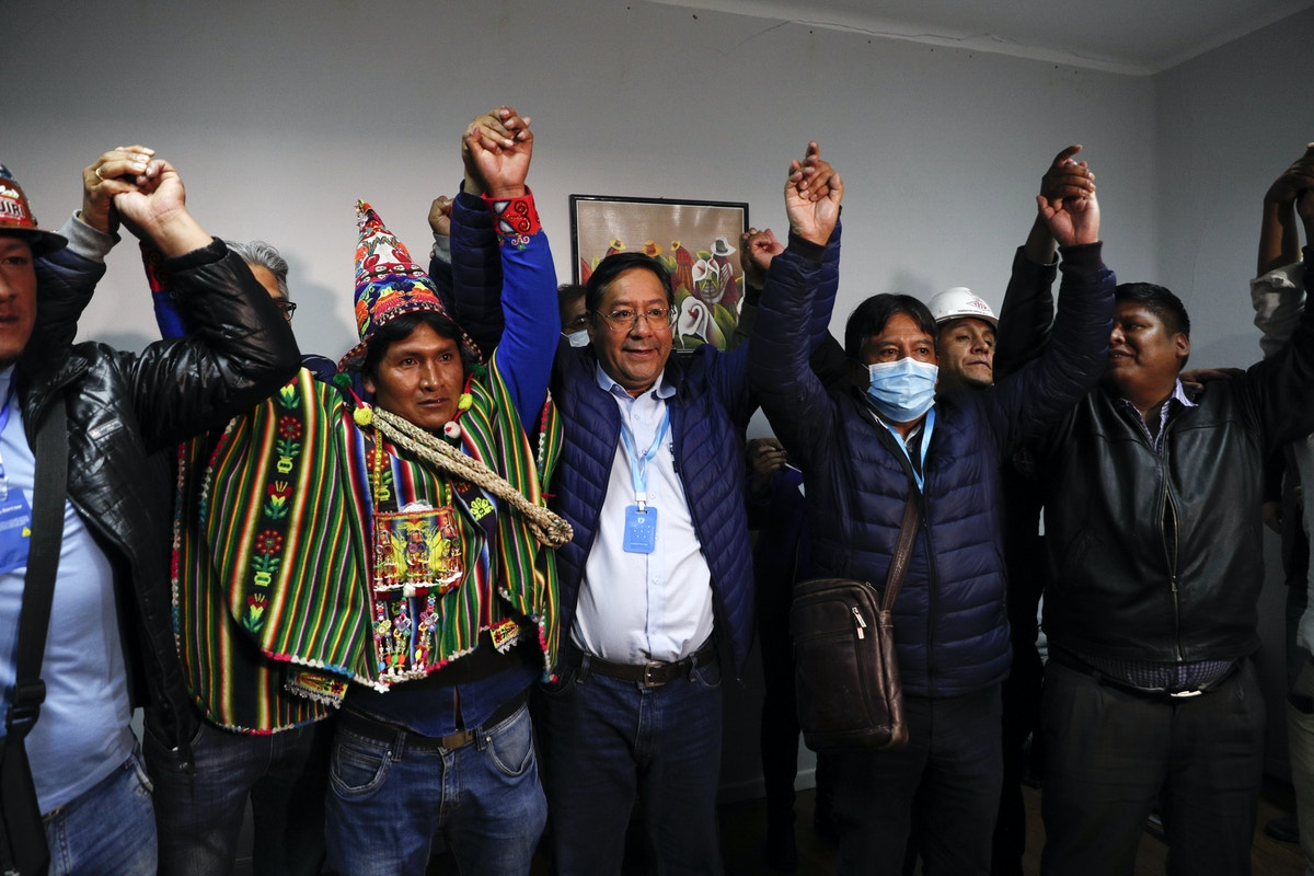 Bolivians Return Evo Morales's Party to Power One Year After a U.S.-Applauded Coup