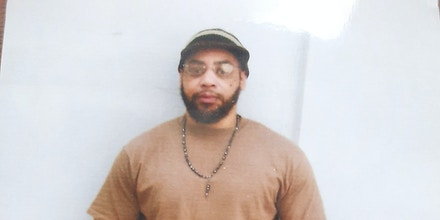 Orlando Hall at the federal penitentiary in Terre Haute, Ind. He faces execution on Nov. 19, 2020.