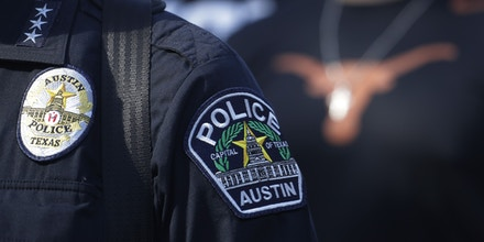 Uniform of police officer from Austin.