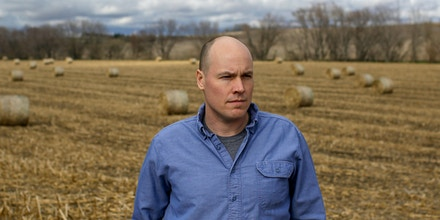 SIOUX CITY, IOWA - APRIL 18:  Former Iowa 4th district Congressional candidate J.D. Scholten poses for a portrait in Sioux City, Iowa April 18, 2019. The number of presidential candidates have increased over the past several months as Democrats campaign across the state of Iowa as they prepare for next year's Iowa Caucus and the 2020 presidential election. (Photo by Joshua Lott for The Washington Post via Getty Images)