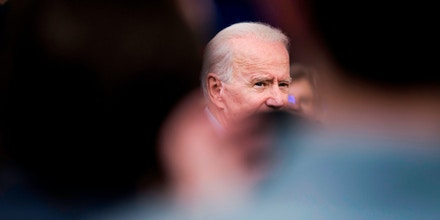 Presidential candidate Joe Biden speaks to supporters during a rally on March 2, 2020 at Texas Southern University in Houston, Texas. (Photo by Mark Felix / AFP) (Photo by MARK FELIX/AFP /AFP via Getty Images)