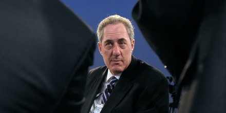 US Trade Representative Michael Froman attends a session at The World Economic Forum in Davos on January 25, 2014. After days of focusing on diplomatic issues such as Syria's civil war and Iran's nuclear programme, the spotlight at the World Economic Forum in Davos turns to the economy on the last day, with a host of top central bankers and ministers presenting their forecasts for the global outlook. AFP PHOTO/ERIC PIERMONT        (Photo credit should read ERIC PIERMONT/AFP via Getty Images)