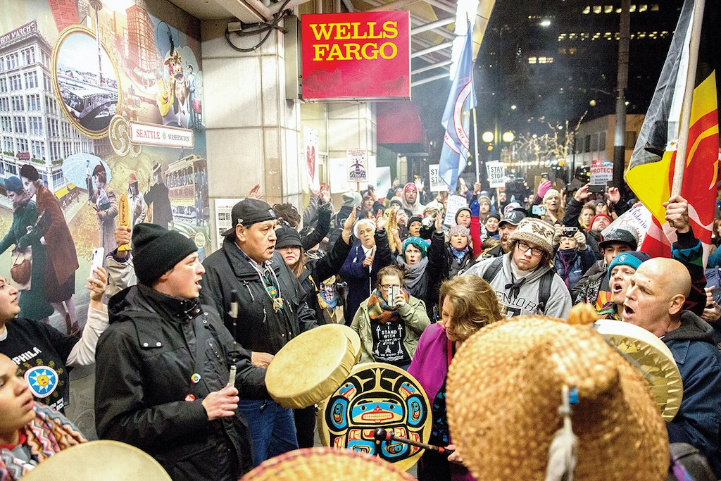 A 2016 action to divest the city of Seattle from Wells Fargo