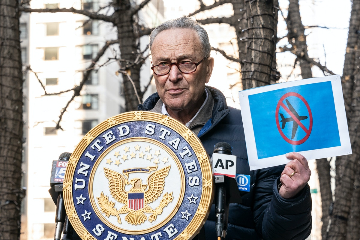 Schumer's Insurrectionist No-Fly List Is a Civil Liberties Nightmare