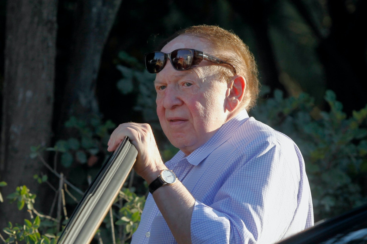 Sheldon Adelson's Fortune Helped Turn the GOP Into the Party of Israeli Apartheid