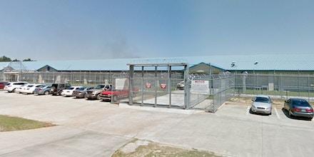 O Centro de Processamento do ICE em Pine Prairie, Louisiana, em 2019.