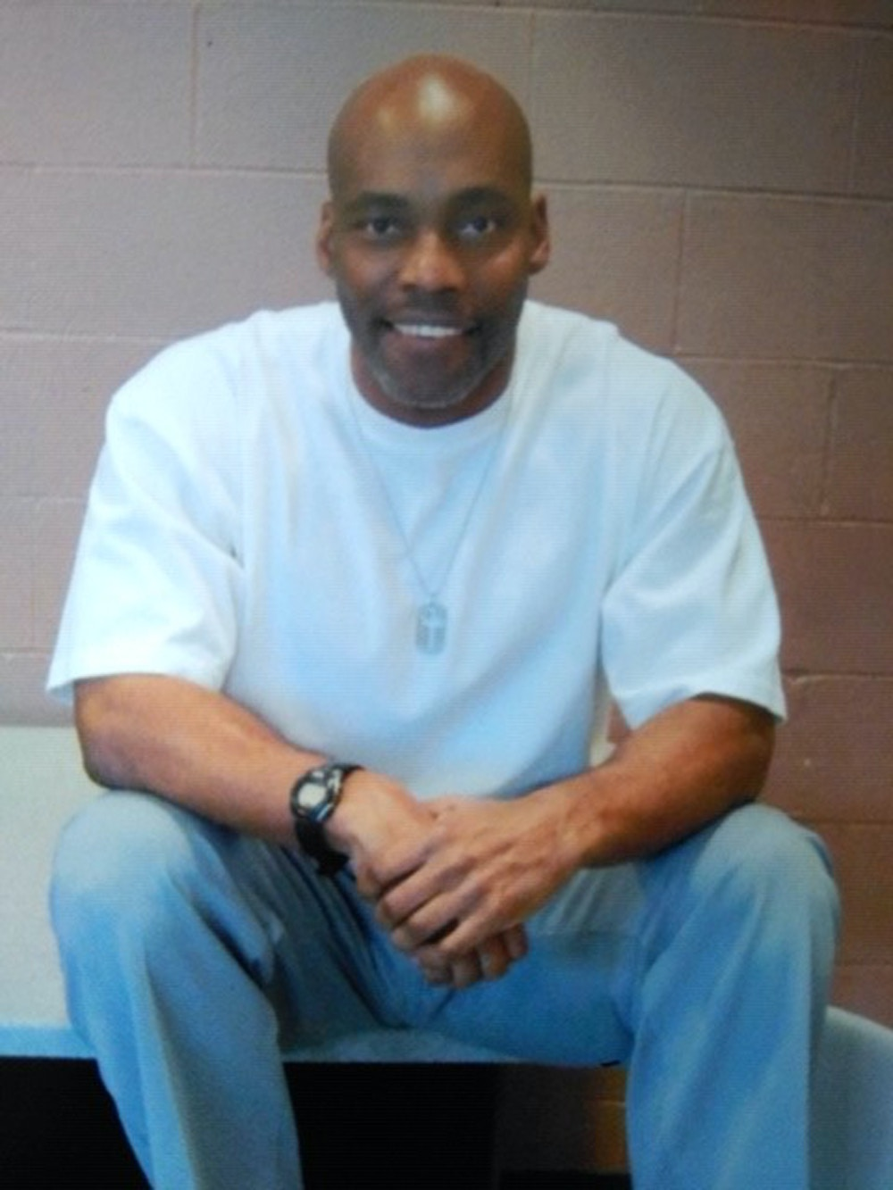 Lamar Johnson at Jefferson City Correctional Center in 2018.