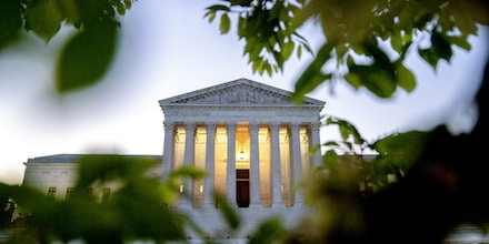 The U.S. Supreme Court in Washington, D.C., U.S., on Tuesday, April 20, 2021. President Biden is asking congressional Democrats to vote for a tax increase that will test a long-held liberal article of faith: that many wealthy Democrats won't mind paying more in taxes if they can be convinced the money would lead to greater prosperity for everyone. Photographer: Stefani Reynolds/Bloomberg via Getty Images