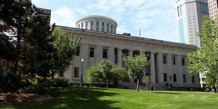 Ohio Statehouse on May 16, 2014 in Columbus, Ohio.