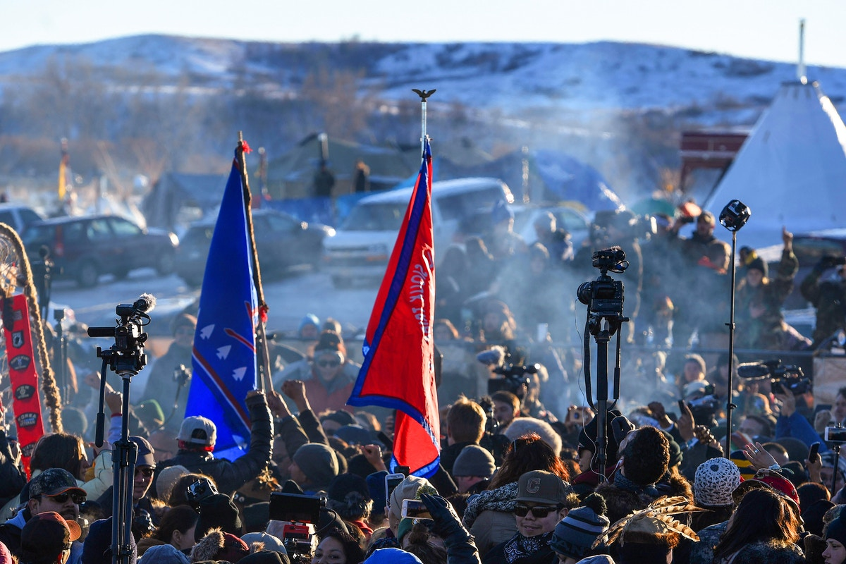 Pipeline Company Issues Broad Subpoena to News Site That Covered Protests Against It