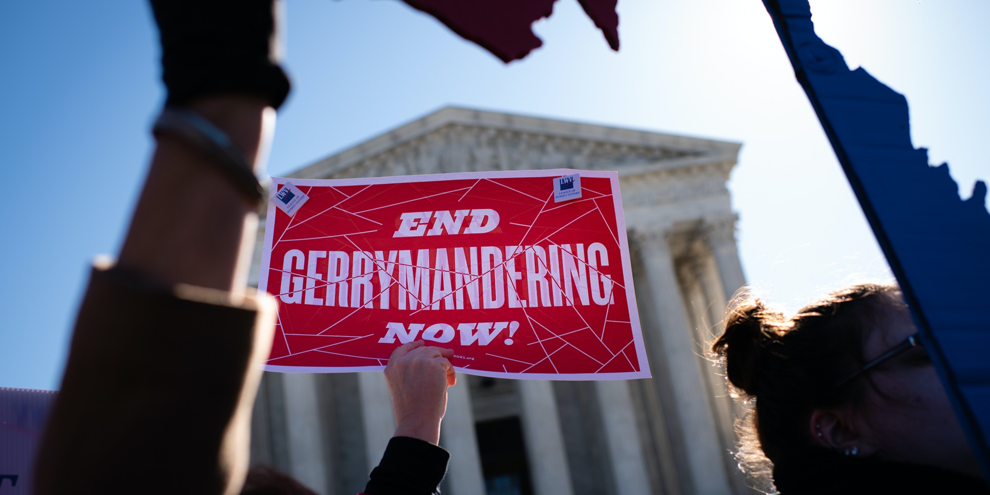 A Fair Maps Rally was held in front of the U.S. Supreme Court on Tuesday, March 26, 2019 in Washington, DC.