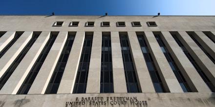 UNITED STATES - AUGUST 23: E. Barrett Prettyman United States Courthouse (Photo By Bill Clark/CQ Roll Call)
