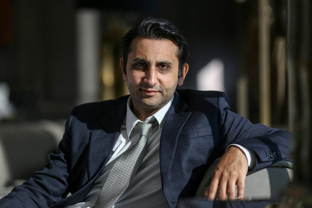 Adar Poonawalla, chief executive officer of Serum Institute of India Ltd., at the company's Hadapsar plant in Pune, Maharashtra, India, on Friday, Jan. 22, 2021. Serum, which is the world's largest vaccine maker by volume, has an agreement with AstraZeneca to produce at least a billion doses of Covishield, the local name for the Covid-19 vaccine developed by AstraZeneca Plc. and the University of Oxford. Photographer: Dhiraj Singh/Bloomberg via Getty Images