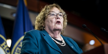 Representative Zoe Lofgren, a Democrat from California and chairwoman of the House Administration Committee, speaks during a news conference at the U.S. Capitol in Washington, D.C., U.S., on Wednesday, May 19, 2021. The House GOP leader said yesterday he opposes the plan to set up a commission to investigate the Jan. 6 Capitol riots, even though it was negotiated by the top Republican and Democrat on the House Homeland Security Committee. Photographer: Al Drago/Bloomberg via Getty Images