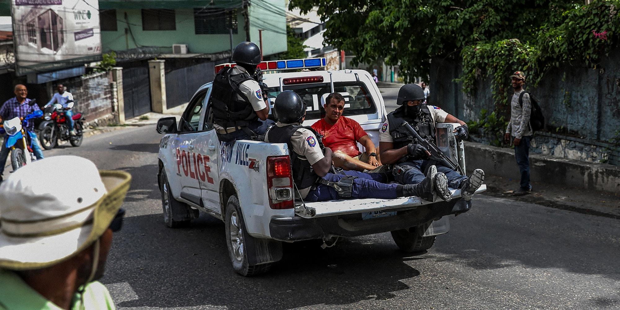 COLOMBIAN MERCENARIES AND THE ASSASSINATION OF HAITIAN PRESIDENT JOVENEL MOÏSE,harbouchanews