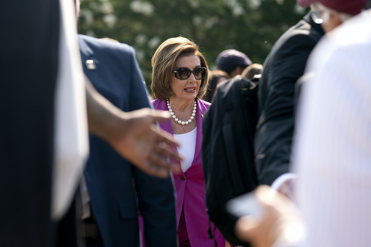 Nancy Pelosi's Surprise Flip on Student Debt Cancellation Came After Urging From Billionaire Power Couple