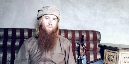 Russell Dennison in Syria.