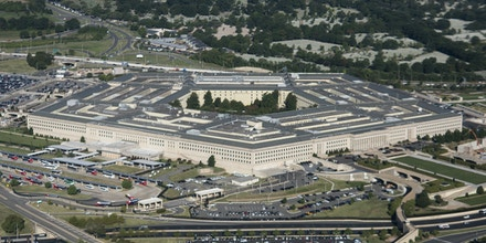 UNITED STATES - AUGUST 29: Aerial view of the Pentagon building. (Photo By Bill Clark/CQ-Roll Call, Inc via Getty Images)