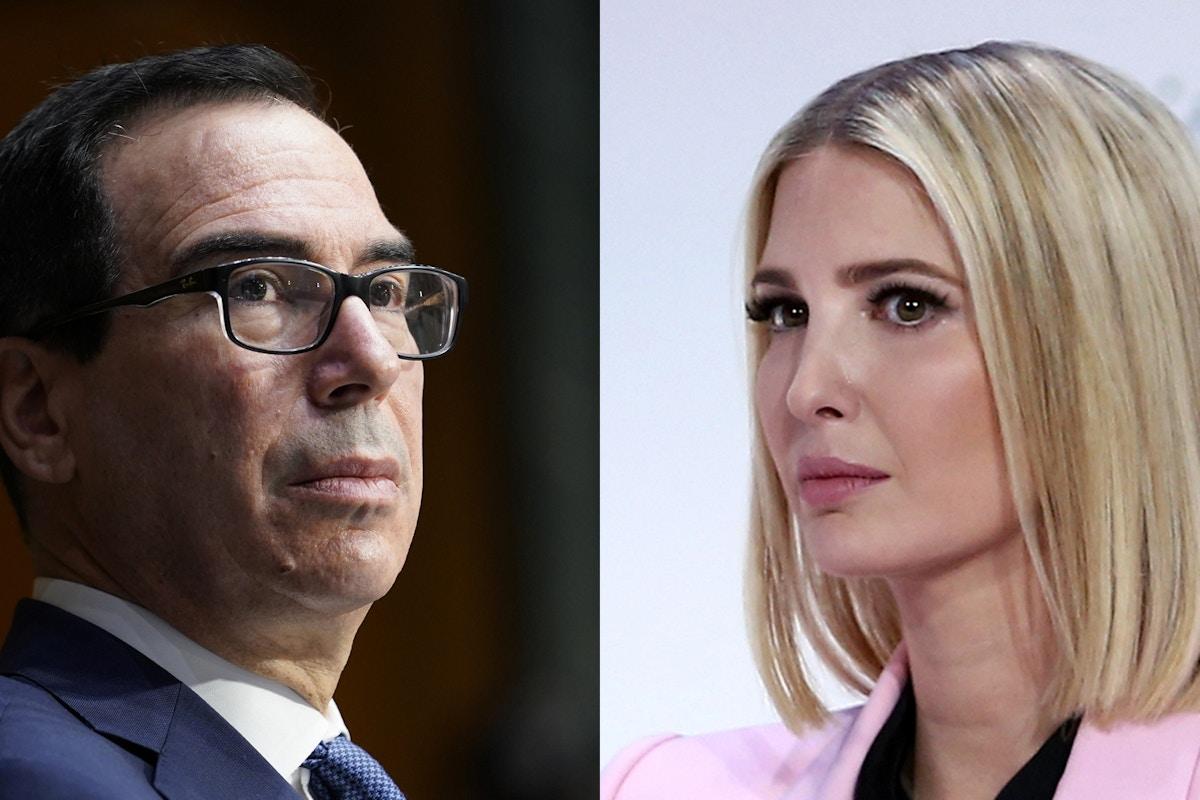 Steven Mnuchin Stepped In to Prevent Ivanka Trump World Bank Appointment