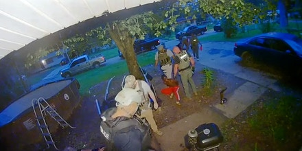 A video obtained by The Intercept shows U.S. Marshals Service Gulf Coast Regional Fugitive Task Force officers berating two teens, as well as a middle-aged woman.
